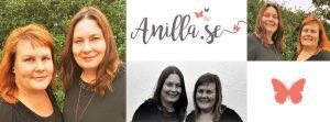 anna & camilla, banner, anilla.se